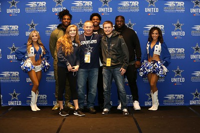 2017 Seahawks at Cowboys Players Op