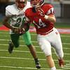 9-22-17<br /> Kokomo vs Anderson football<br /> Luke Cameron runs the ball.<br /> Kelly Lafferty Gerber | Kokomo Tribune