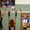 9-13-17<br /> Kokomo vs North Miami volleyball<br /> Kokomo's Gabby Cooper goes in for the kill.<br /> Kelly Lafferty Gerber | Kokomo Tribune