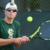 9-7-17<br /> Eastern vs Taylor boys tennis<br /> Eastern 1 singles Isaac Beachy<br /> Kelly Lafferty Gerber | Kokomo Tribune