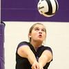 9-26-17<br /> Northwestern vs Western volleyball<br /> NW's Ashley Cunningham<br /> Kelly Lafferty Gerber | Kokomo Tribune