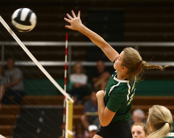 9-21-17<br /> Eastern vs Taylor volleyball<br /> Eastern's Bailey Johnson<br /> Kelly Lafferty Gerber | Kokomo Tribune