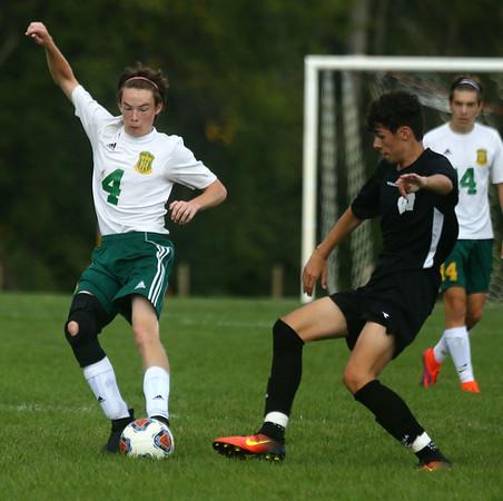 9-16-17<br /> Eastern vs Western boys soccer<br /> <br /> Kelly Lafferty Gerber | Kokomo Tribune