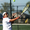 9-28-17<br /> Boys sectional tennis<br /> Kokomo 1 singles Daniel Socias Florit<br /> Kelly Lafferty Gerber | Kokomo Tribune