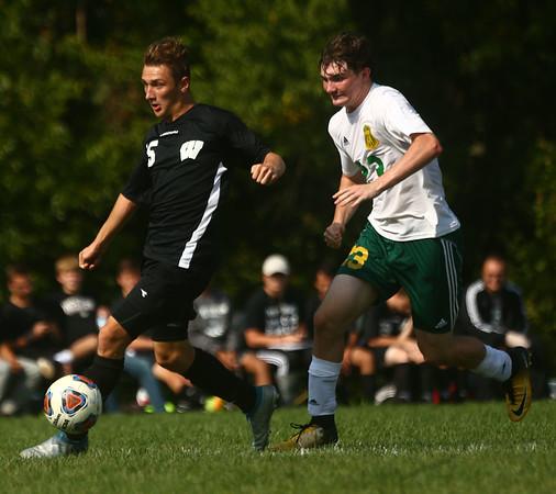 9-16-17<br /> Eastern vs Western boys soccer<br /> <br /> Kelly Lafferty Gerber   Kokomo Tribune