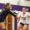 9-26-17<br /> Northwestern vs Western volleyball<br /> Western's Karlyne Shepherd<br /> Kelly Lafferty Gerber | Kokomo Tribune