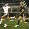9-14-17<br /> Northwestern vs Western girls soccer<br /> Western's Sophie Weigt goes for the goal.<br /> Kelly Lafferty Gerber | Kokomo Tribune
