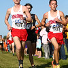 9-9-17<br /> Girls and boys cross country at Maconaquah<br /> Kokomo's Justin Taflinger, left, and Corey Dea.<br /> Kelly Lafferty Gerber | Kokomo Tribune