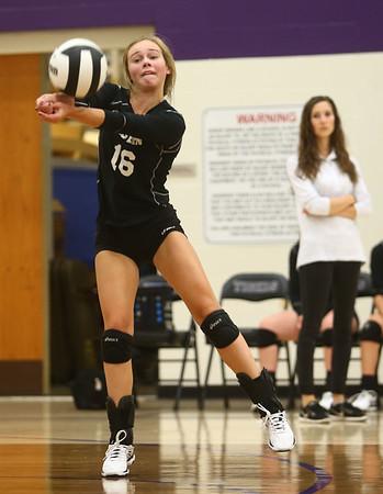 9-26-17<br /> Northwestern vs Western volleyball<br /> Western's Haley Berry<br /> Kelly Lafferty Gerber | Kokomo Tribune