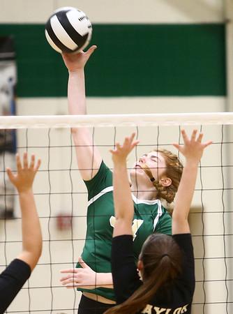 9-21-17<br /> Eastern vs Taylor volleyball<br /> Eastern's Hailey Holliday<br /> Kelly Lafferty Gerber | Kokomo Tribune