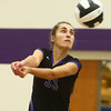 9-26-17<br /> Northwestern vs Western volleyball<br /> NW's Madison Layden.<br /> Kelly Lafferty Gerber | Kokomo Tribune