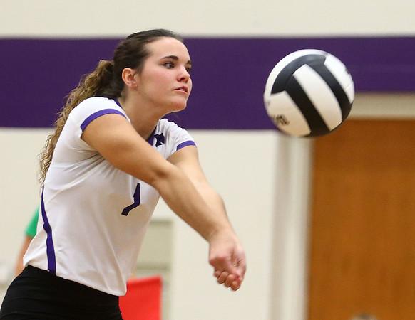 9-26-17<br /> Northwestern vs Western volleyball<br /> NW's Catelyn Wilson<br /> Kelly Lafferty Gerber   Kokomo Tribune
