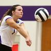 9-26-17<br /> Northwestern vs Western volleyball<br /> NW's Catelyn Wilson<br /> Kelly Lafferty Gerber | Kokomo Tribune