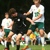 9-16-17<br /> Eastern vs Western boys soccer<br /> Western's Collin Rassel and Eastern's Lance VanMatre go after the ball.<br /> Kelly Lafferty Gerber | Kokomo Tribune