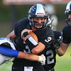 Friday night football between Western HS and Tipton HS on Sept. 15, 2017. <br /> Tim Bath | Kokomo Tribune
