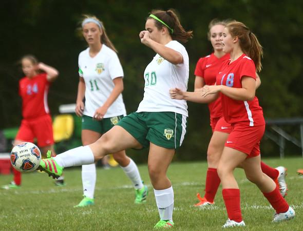 9-6-17<br /> Eastern vs Maconaquah girls soccer<br /> <br /> Kelly Lafferty Gerber | Kokomo Tribune