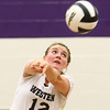 9-26-17<br /> Northwestern vs Western volleyball<br /> Western's Chase Epp<br /> Kelly Lafferty Gerber | Kokomo Tribune