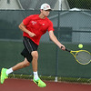 9-7-17<br /> Eastern vs Taylor boys tennis<br /> Taylor 3 singles Wynn Takacs<br /> Kelly Lafferty Gerber | Kokomo Tribune