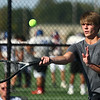 9-28-17<br /> Boys sectional tennis<br /> Western 1 doubles Ashton Guyer<br /> Kelly Lafferty Gerber | Kokomo Tribune