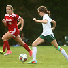 9-27-17<br /> Eastern vs Taylor girls soccer<br /> Eastern's Ellie Moore.<br /> Kelly Lafferty Gerber | Kokomo Tribune
