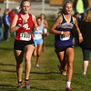 9-9-17<br /> Girls and boys cross country at Maconaquah<br /> NW's Lauren Longshore (right).<br /> Kelly Lafferty Gerber | Kokomo Tribune