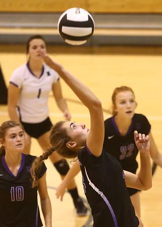 9-30-17<br /> Hoosier Conference tournament-Northwestern volleyball<br /> Madison Layden<br /> Kelly Lafferty Gerber | Kokomo Tribune