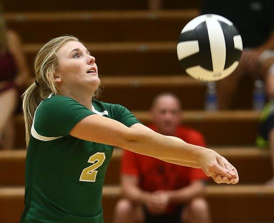 9-21-17<br /> Eastern vs Taylor volleyball<br /> Eastern's Isabel Kelly<br /> Kelly Lafferty Gerber | Kokomo Tribune