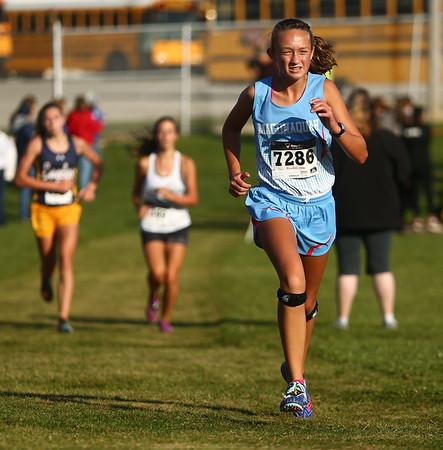 9-9-17<br /> Girls and boys cross country at Maconaquah<br /> Mac's Karli Miller.<br /> Kelly Lafferty Gerber | Kokomo Tribune