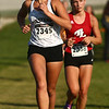 9-9-17<br /> Girls and boys cross country at Maconaquah<br /> Western's Megan Hampshire.<br /> Kelly Lafferty Gerber | Kokomo Tribune