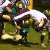 9-1-17<br /> Eastern vs Wes-Del football<br /> Eastern defense takes down Wes-Del's Kyle Dosch.<br /> Kelly Lafferty Gerber | Kokomo Tribune