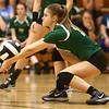 9-21-17<br /> Eastern vs Taylor volleyball<br /> Eastern's Courtney Elliott<br /> Kelly Lafferty Gerber | Kokomo Tribune