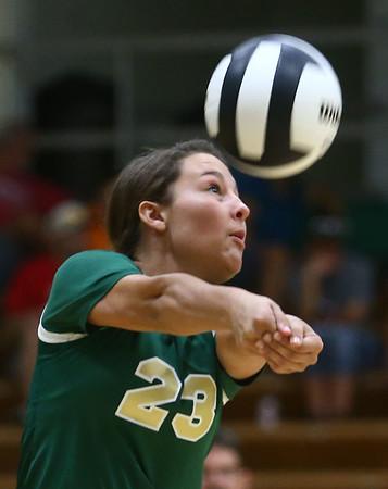 9-21-17<br /> Eastern vs Taylor volleyball<br /> Eastern's Torie Bratcher<br /> Kelly Lafferty Gerber | Kokomo Tribune