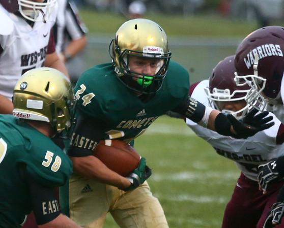 9-1-17<br /> Eastern vs Wes-Del football<br /> <br /> Kelly Lafferty Gerber | Kokomo Tribune