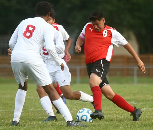9-12-17<br /> Kokomo vs Logansport boys soccer<br /> Logan's Dustin Gonzalez<br /> Kelly Lafferty Gerber | Kokomo Tribune