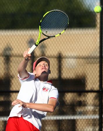 9-28-17<br /> Boys sectional tennis<br /> Kokomo 2 doubles Jackson Richards<br /> Kelly Lafferty Gerber   Kokomo Tribune