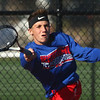 9-28-17<br /> Boys sectional tennis<br /> Kokomo 1 doubles Payton McClain<br /> Kelly Lafferty Gerber | Kokomo Tribune