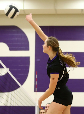 9-26-17<br /> Northwestern vs Western volleyball<br /> NW's Jenna Goodspeed.<br /> Kelly Lafferty Gerber | Kokomo Tribune