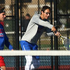 9-28-17<br /> Boys sectional tennis<br /> Kokomo 1 doubles Nate Hemmerich<br /> Kelly Lafferty Gerber | Kokomo Tribune