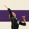 9-26-17<br /> Northwestern vs Western volleyball<br /> Western's Haley Berry.<br /> Kelly Lafferty Gerber | Kokomo Tribune