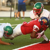 9-22-17<br /> Kokomo vs Anderson football<br /> Donte Smoot makes a touchdown.<br /> Kelly Lafferty Gerber | Kokomo Tribune