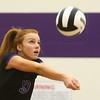 9-26-17<br /> Northwestern vs Western volleyball<br /> NW's Klair Merrell<br /> Kelly Lafferty Gerber | Kokomo Tribune