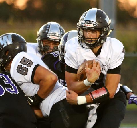 9-29-17<br /> Western vs Northwestern football<br /> Western's Tyler Knepley<br /> Kelly Lafferty Gerber | Kokomo Tribune