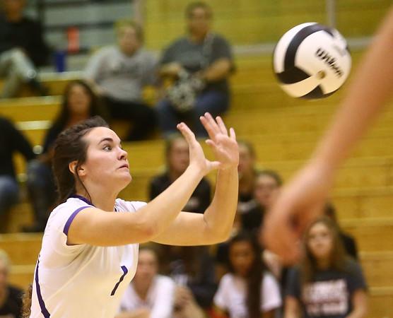 9-30-17<br /> Hoosier Conference tournament-Northwestern volleyball<br /> Catelyn Wilson<br /> Kelly Lafferty Gerber | Kokomo Tribune