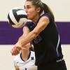 9-26-17<br /> Northwestern vs Western volleyball<br /> NW's Madison Layden<br /> Kelly Lafferty Gerber | Kokomo Tribune