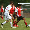 9-12-17<br /> Kokomo vs Logansport boys soccer<br /> Logansport's Marco Macias<br /> Kelly Lafferty Gerber | Kokomo Tribune
