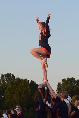 2017 Summit Cheerleaders