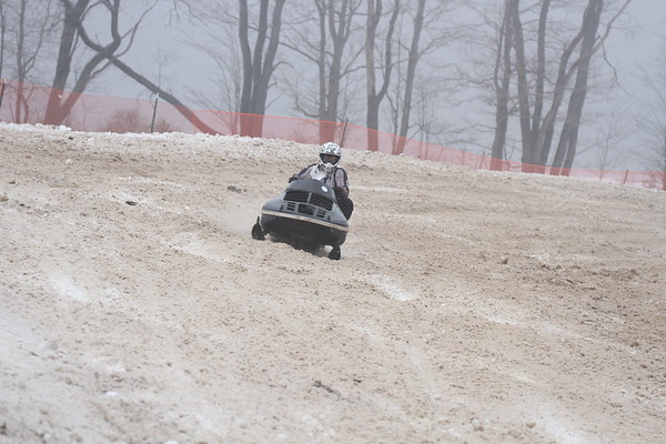 2017 Vintage Snowmobile Race