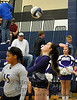 Mount Vernon Varsity Lady Tigers vs New Diana Lady Eagles Volleyball game photos