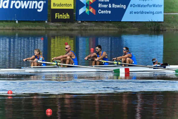 Sweep Boats - 4 Rowers plus Cox - Mixed