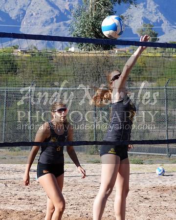 2017 beach volleyball salpointe playoffs